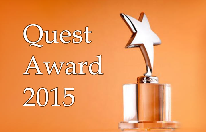 Quest Award 2015 - самая престижная квестовая премия года =)