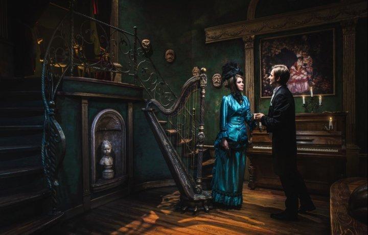 Призрак Оперы здесь...